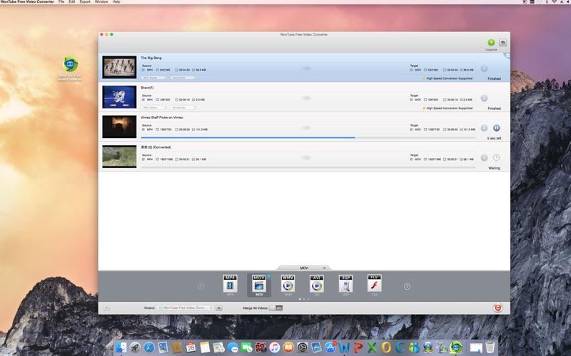 WonTube Free Video Converter скриншот программы 4