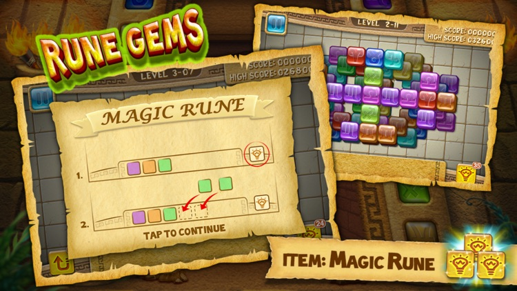 Rune Gems - Deluxe screenshot-3