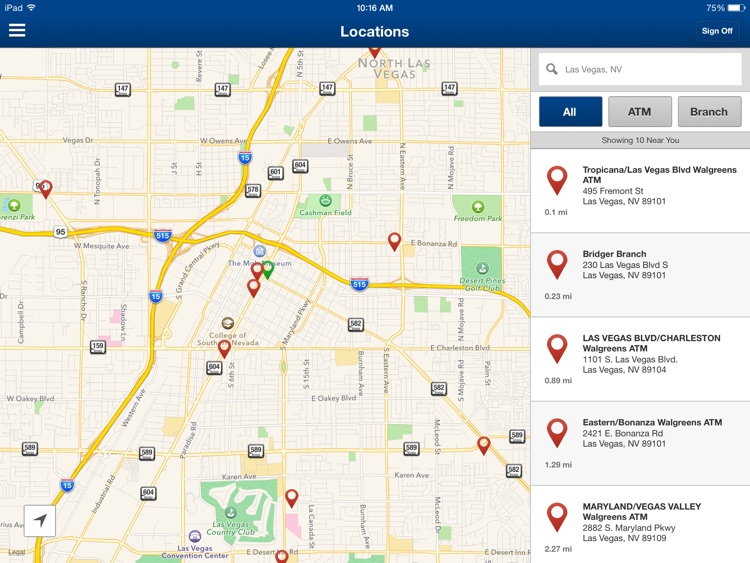 Nevada State Bank Mobile Banking for iPad screenshot-3