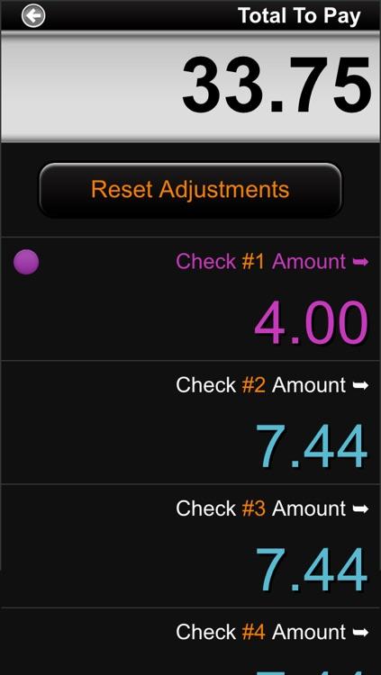 Cool Tip Calculator screenshot-4