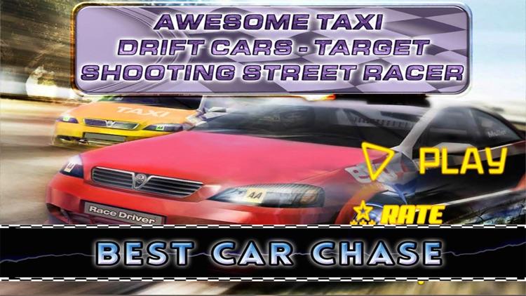Awesome Taxi Drift Cars Target Shooting Street Racer screenshot-3
