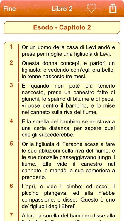 Italian Holy Bible Audio mp3 and Text - Sacra Bibbia - Riveduta Version screenshot-3