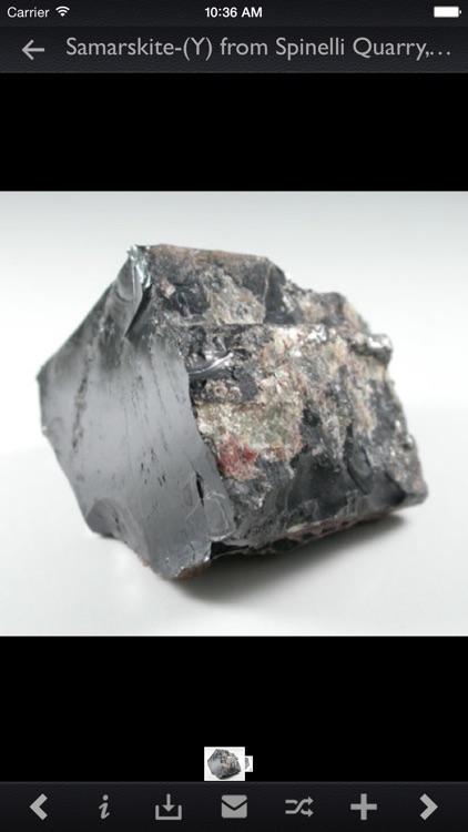 Minerals Encyclopedia Pro screenshot-3