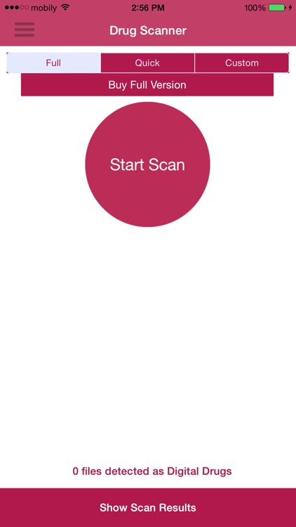 Drug Scanner - Scan your audio files for Digital D
