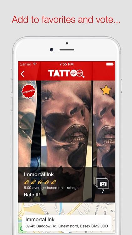 Tattoo Life Map screenshot-3