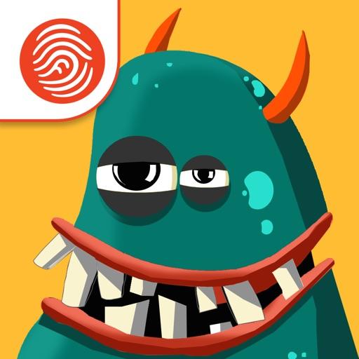 A to Z Monsters - A Fingerprint Network App