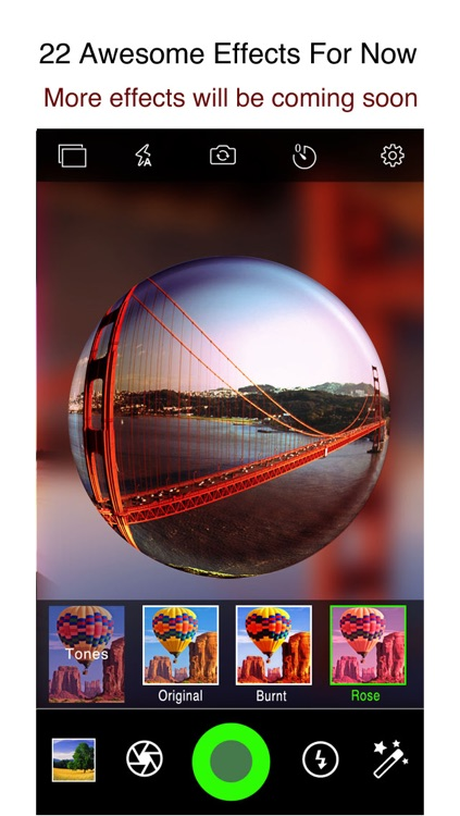 Fisheye Plus Free - Lomo Fisheye Camera with Crystal ball Lens and Color Flashlight screenshot-4