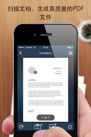 Tiny Scanner+ - PDF scanner to scan document, receipt & fax screenshot 2