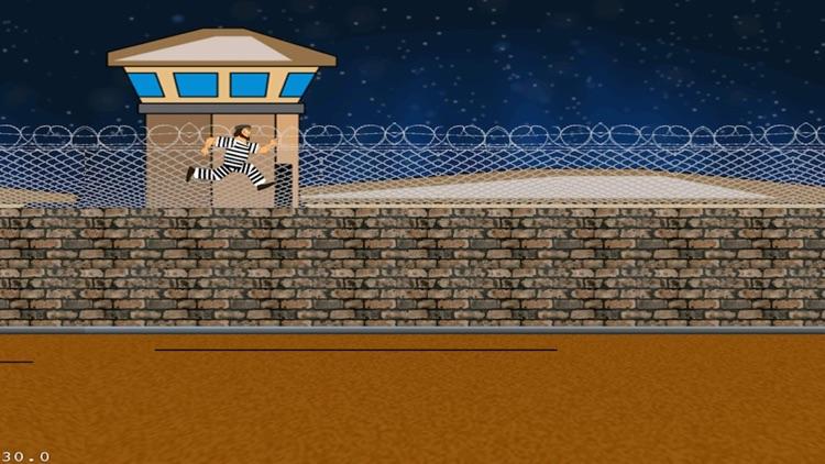 A Prisoner On The Run Classic Arcade Challenge Runner Free screenshot-4