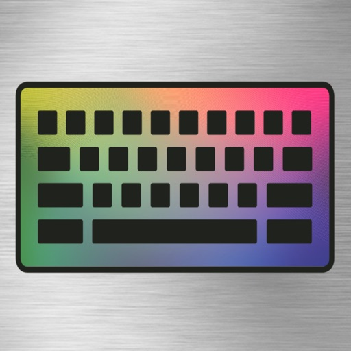Cool Color Keyboards and Key Themes for iPhone and iPad
