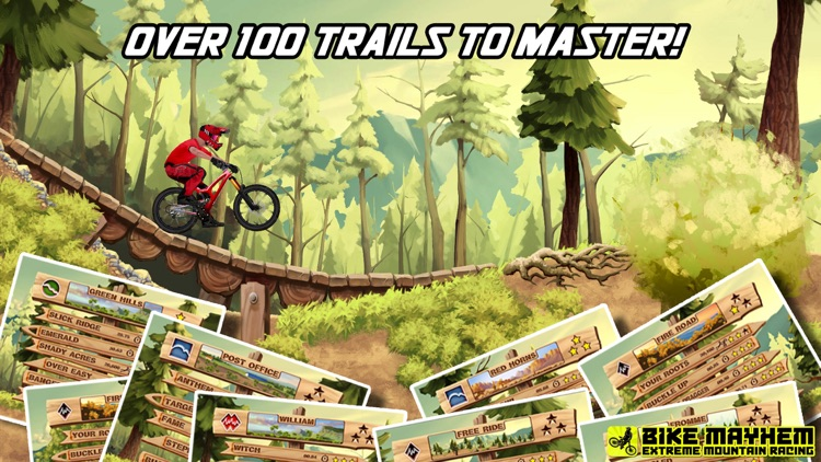 Bike Mayhem Mountain Racing screenshot-3