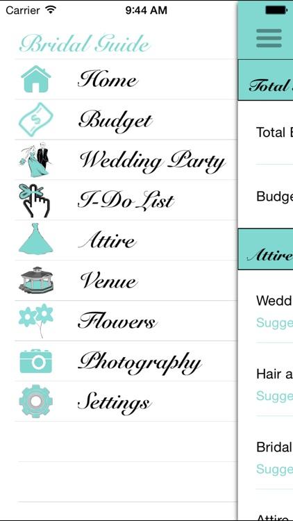 Bridal Guide Wedding Planner screenshot-4