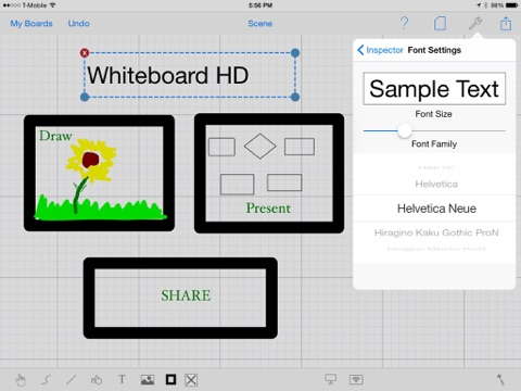 Whiteboard HD Screenshot 4