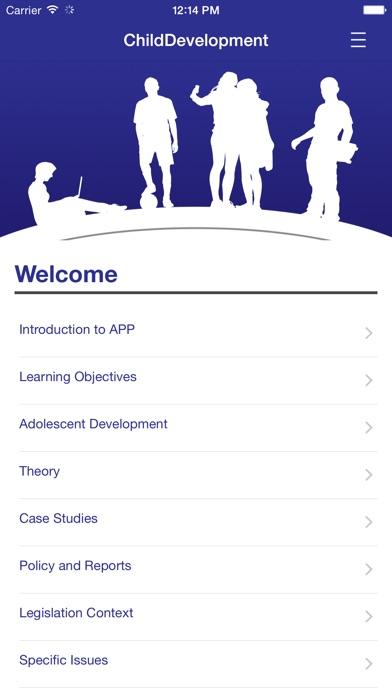 Understanding Child Development for 13-18 years screenshot one