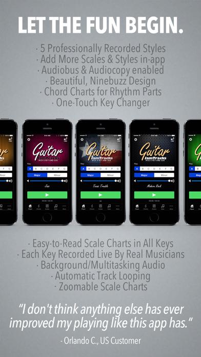 Guitar Jam Tracks - Scale Trainer & Practice Buddy-4