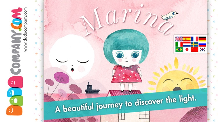 Marina and the Light - An interactive storybook without words for children screenshot-0