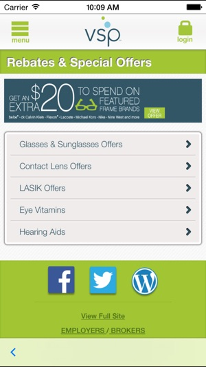 23ea079e00 VSP Vision Care On the Go on the App Store