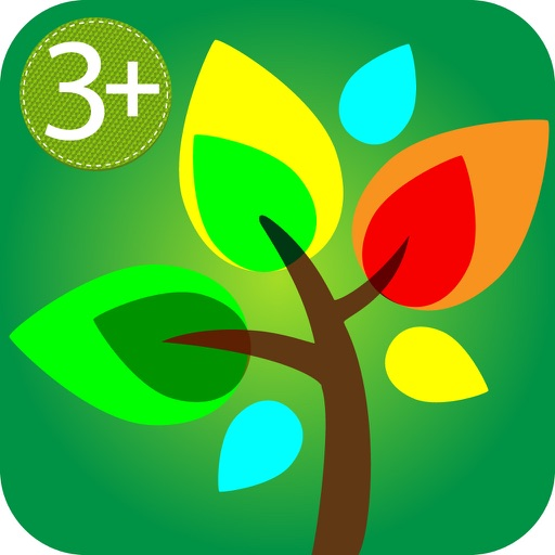 HugDug Trees - Kids make trees & forests with amazing stickers art