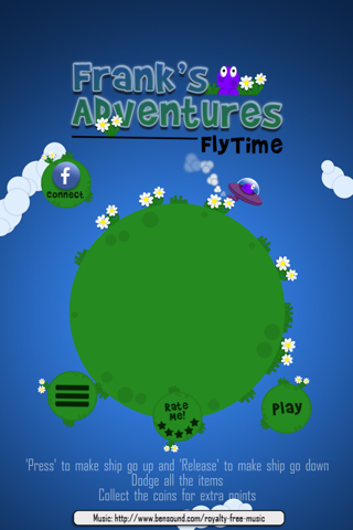 Frank's FlyTime screenshot 1