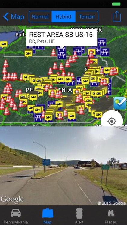 Pennsylvania Philadelphia Pittsburgh Traffic Cameras - Travel & Transit & NOAA Pro screenshot-3