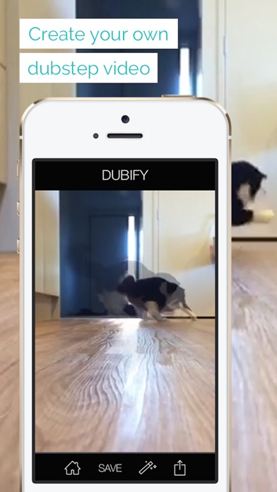Dubify - sync your videos to dubstep