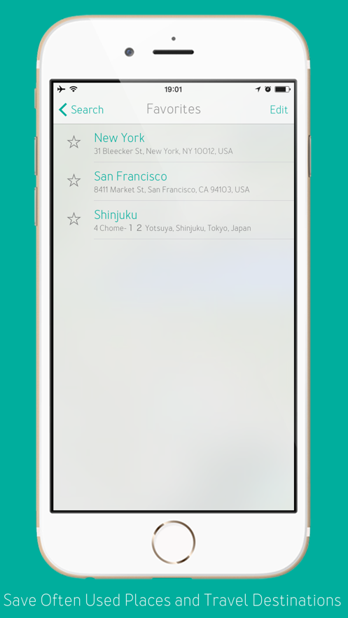 DoubleMap – Easily understand how far things are in unfamiliar places App 截图