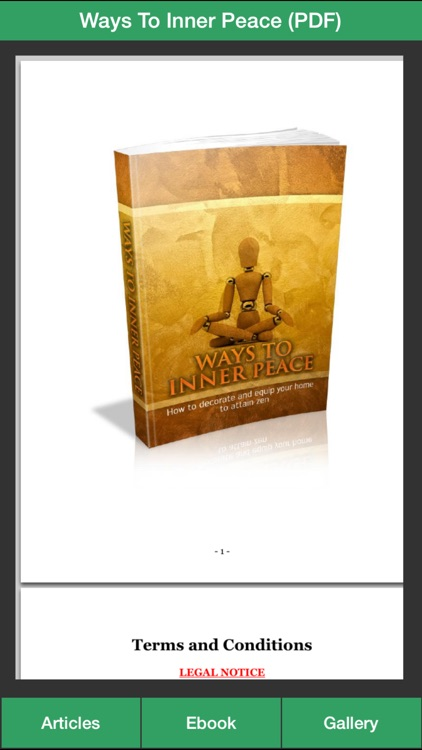 Zen Inner Peace - Create an Inner Peace Successfully!