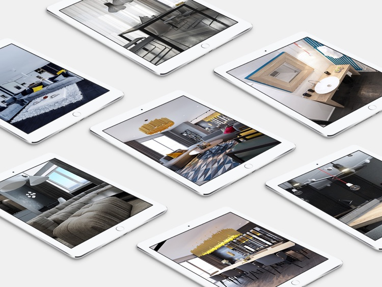 Interior Design Ideas - Artful Loft Design for iPad screenshot-2