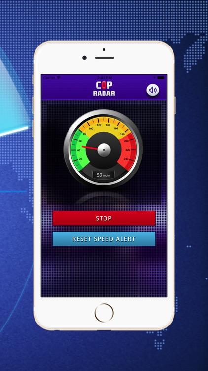 Cop Radar - Speed Detector screenshot-3