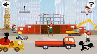 Kinder-Spiel mit Bau-stellen-Autos: die erste Puzzle App für mein BabyScreenshot von 5