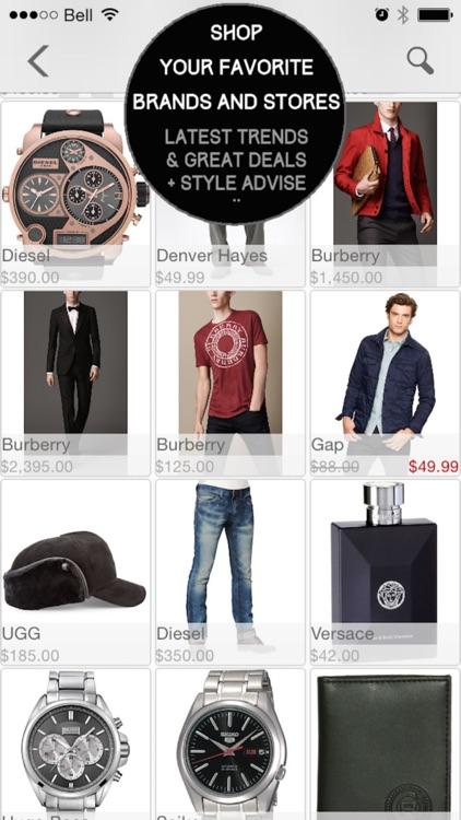 Mod Man - Closet Organizer, Lookbook, and Style Shopping App for Men screenshot-3