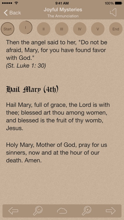 Scriptural Rosary screenshot-1