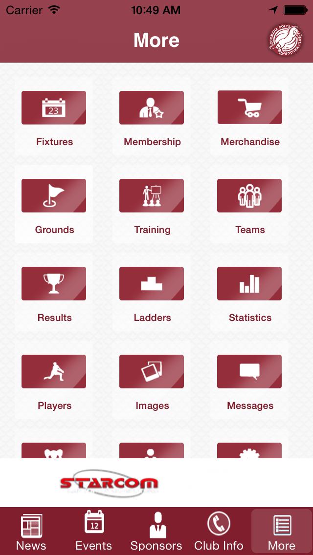 Coomera Colts Soccer Club screenshot two