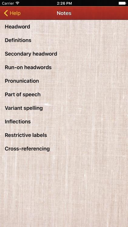 Macmillan Pocket Dictionary screenshot-4