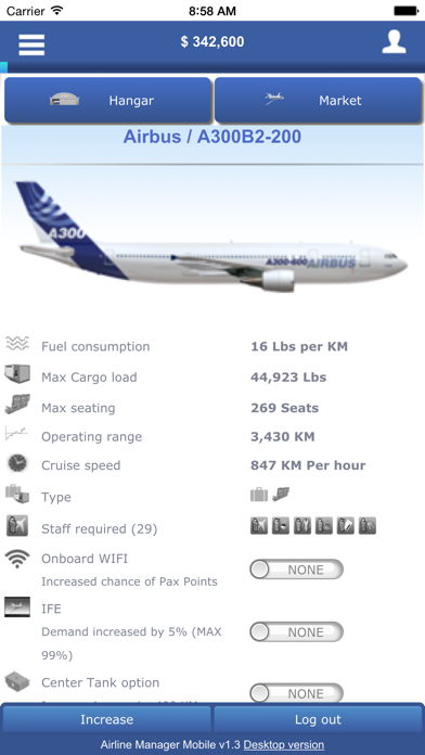Airline-Manager screenshot one