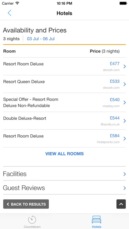 Vegas Vacation Countdown screenshot-4