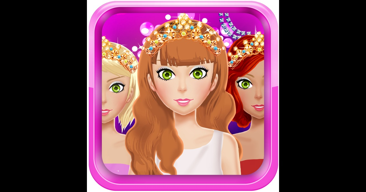 Dress Up Games For Girls & Kids Free-Fun Beauty Salon With