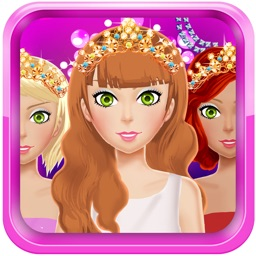 Dress Up Games for Girls & Kids Free-Fun Beauty Salon with fashion,spa,makeover,make up