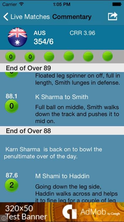 Cricket Score Live screenshot-3