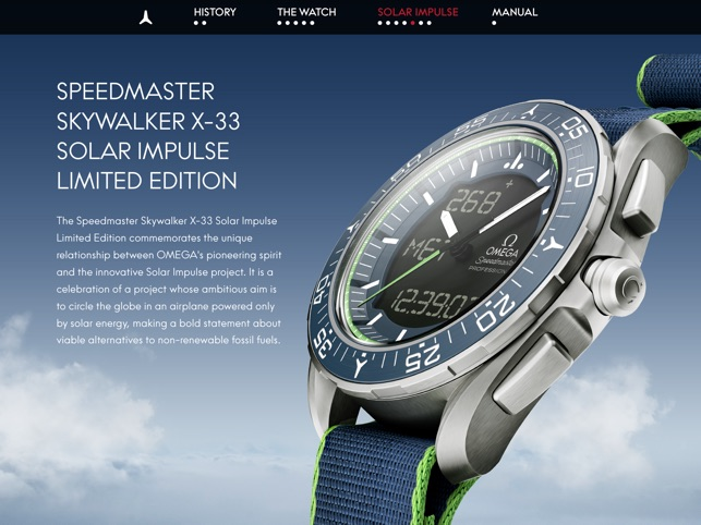omega speedmaster skywalker x 33 interactive manual on the app store rh itunes apple com omega x-33 manual pdf omega x-33 manual pdf
