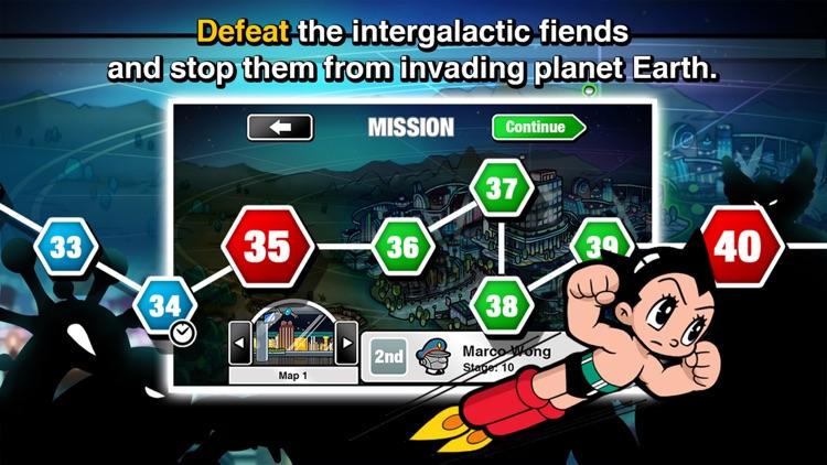Astro Boy Siege: Alien Attack screenshot-4