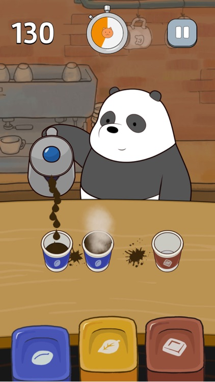 Free Fur All – We Bare Bears Minigame Collection screenshot-0