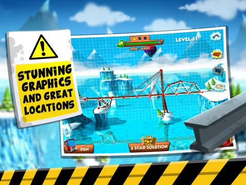 Bridge Builder Simulator - Real Road Construction Sim-ipad-3