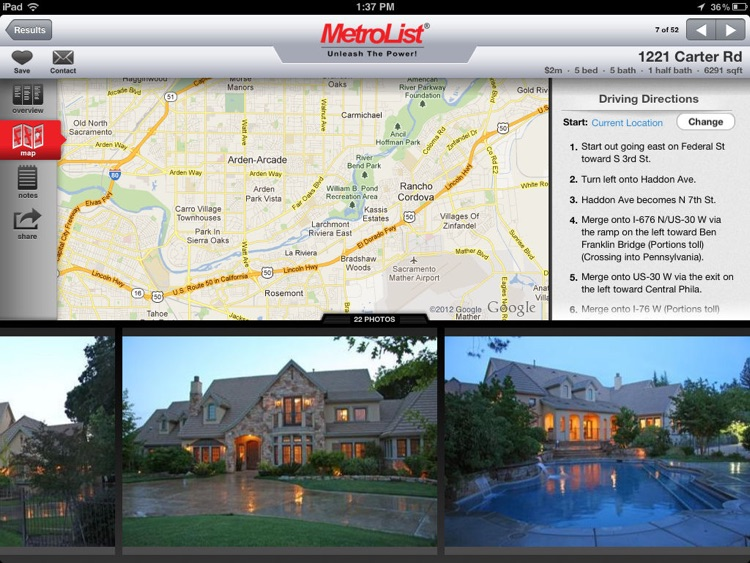 MLS PRO Real Estate for iPad screenshot-2