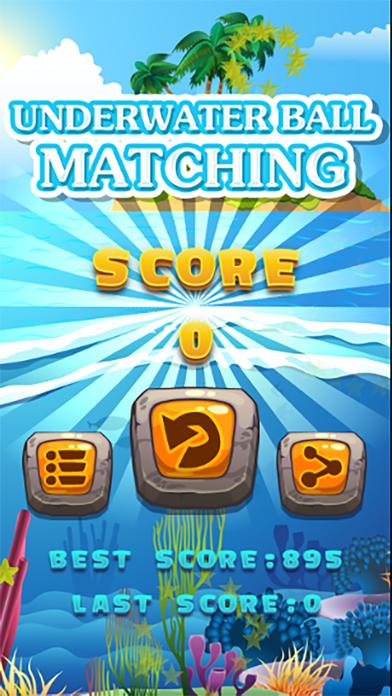 UNDERWATER BALL MATCHING screenshot three
