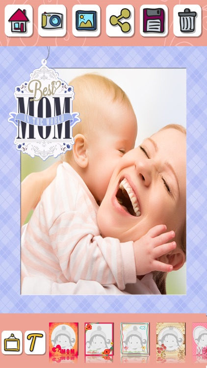 Mother's day photo frames for album – Pic editor screenshot-3