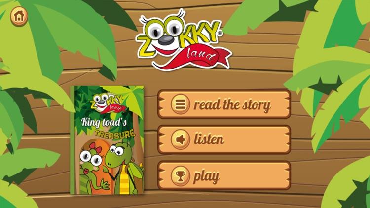 Zookky Land King Toad Treasure