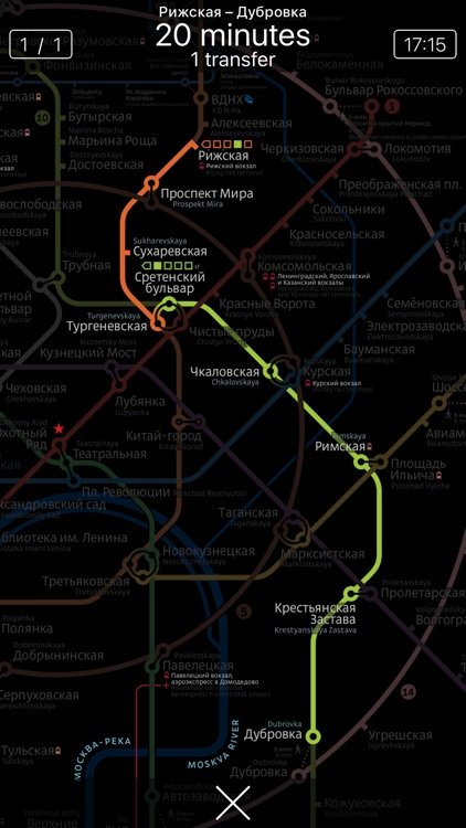 Metro Moscow (with MCC) + Petersburg screenshot-4