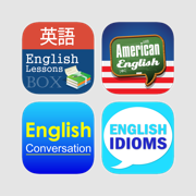 Learning English Series for Japanese - Excellent courses lessons with interactive UI
