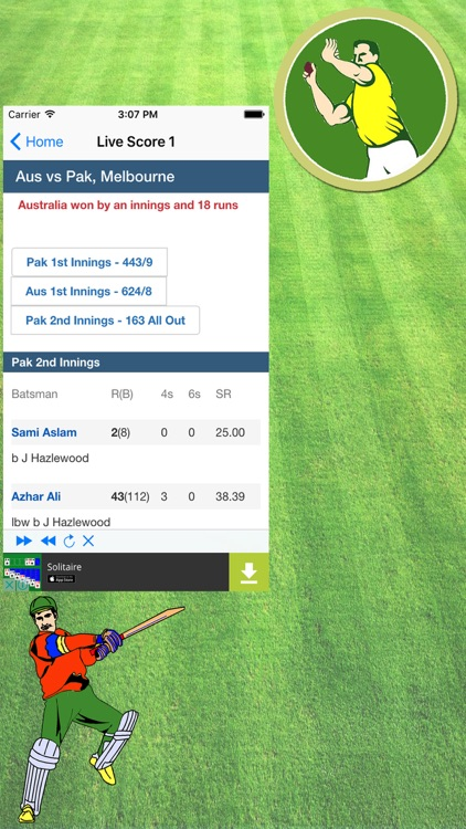 Live Cricket TV & Live Cricket Score Updare screenshot-3
